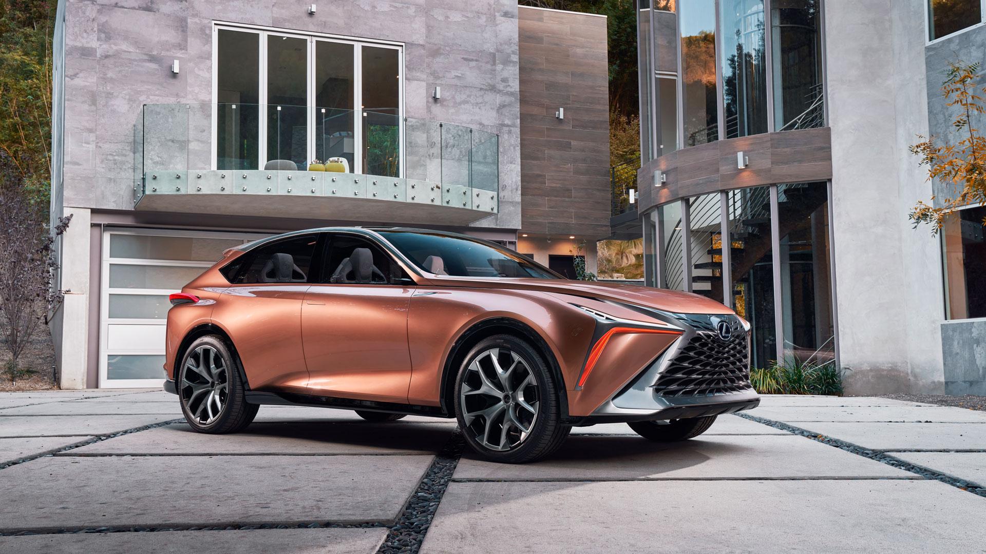 El concepto LF 1 de Lexus hero asset