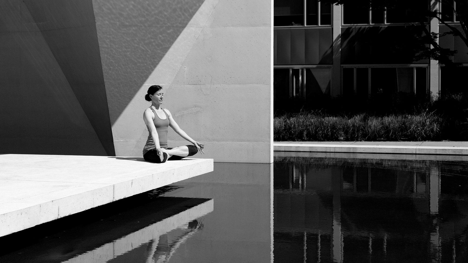 Imagen sobre meditación y relax