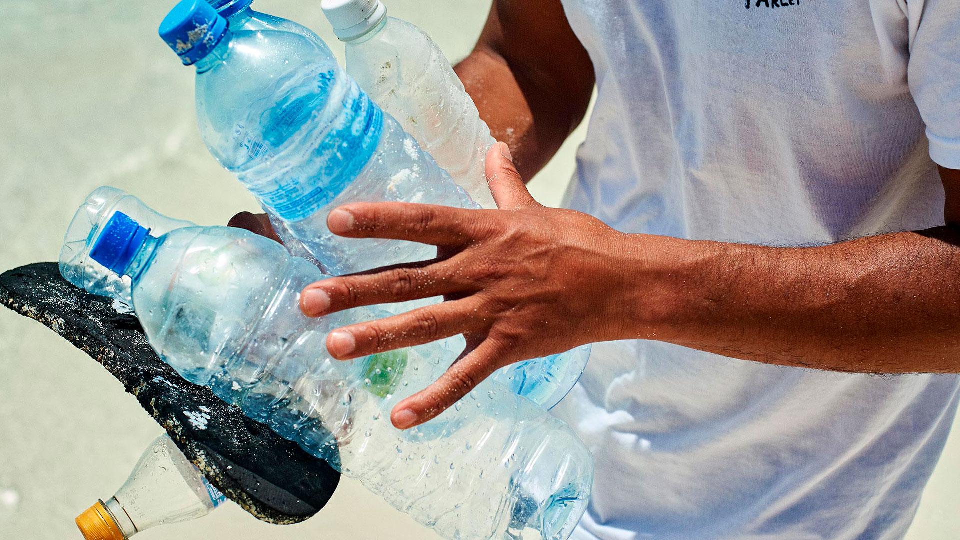 Imagen de la campaña Parley X the Oceans