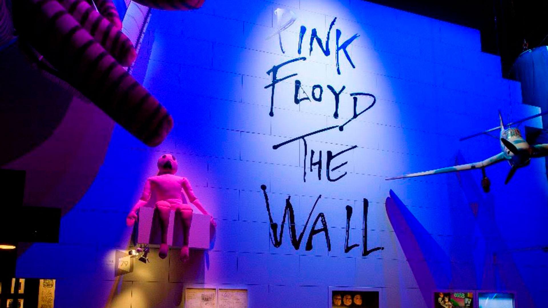 Imagen de la exposición de Pink Floyd