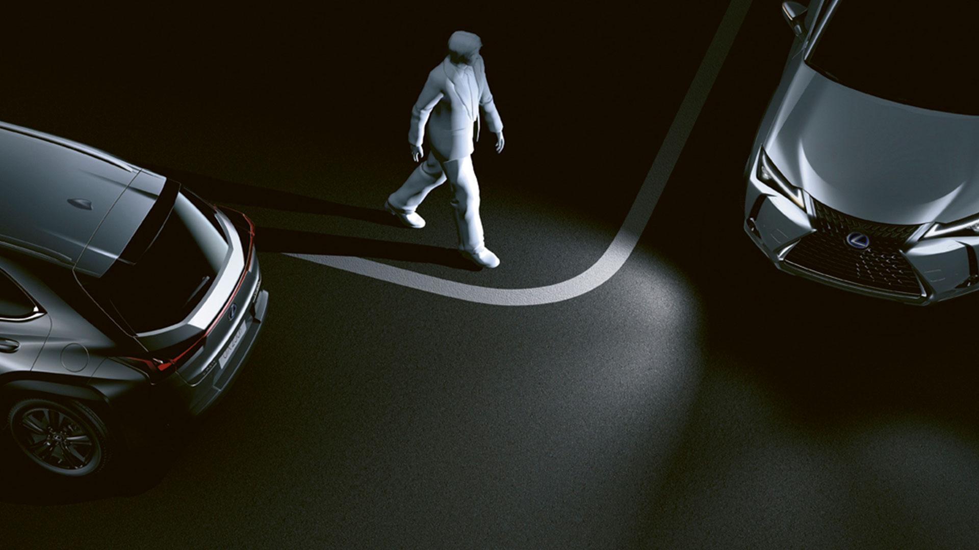 Imágenes de la seguridad del Lexus UX