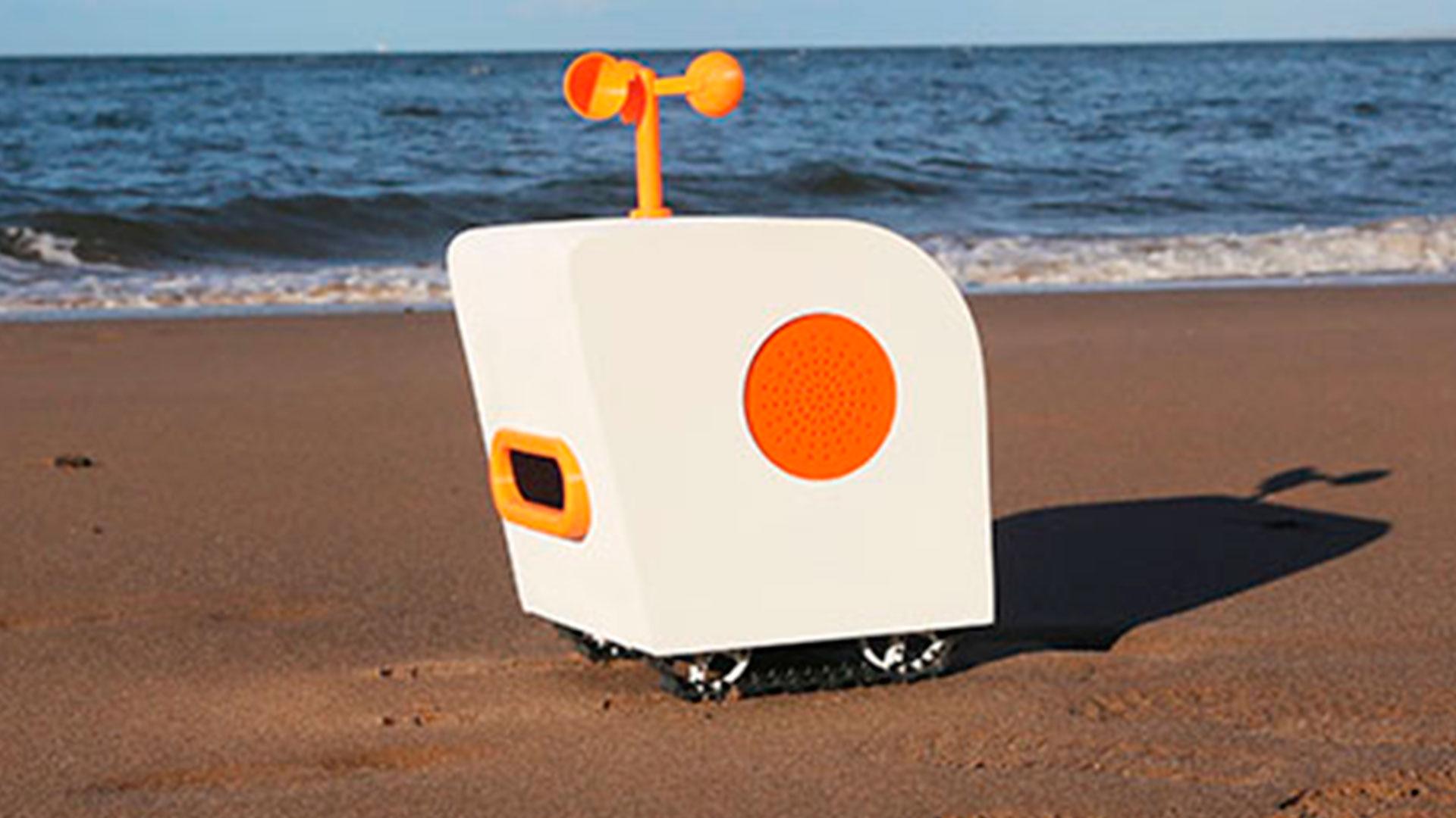 Robot poeta hero asset