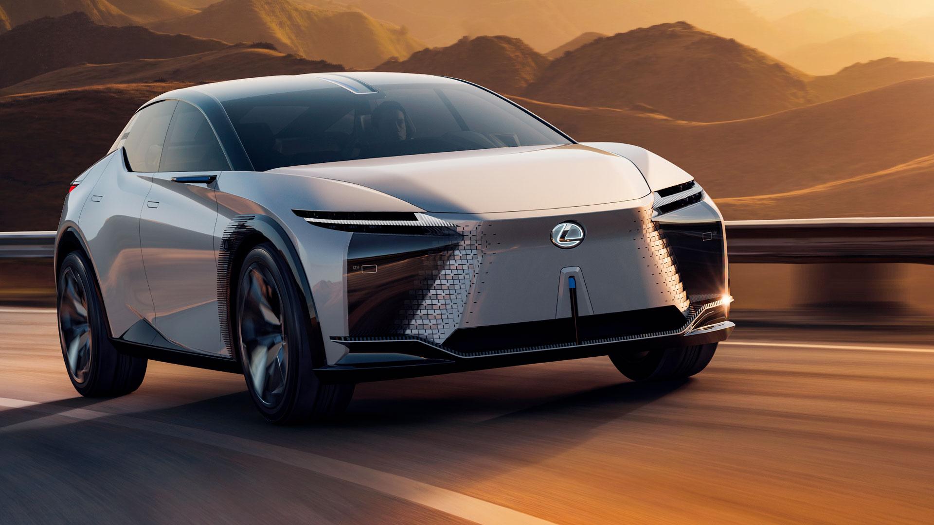 Imagen de un concept de Lexus
