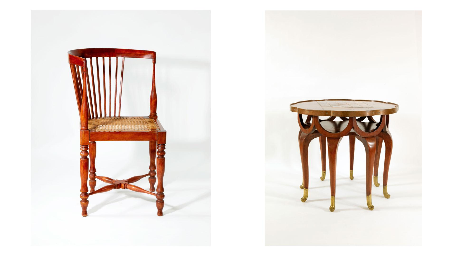 Mobiliario diseñado por Adolf Loos