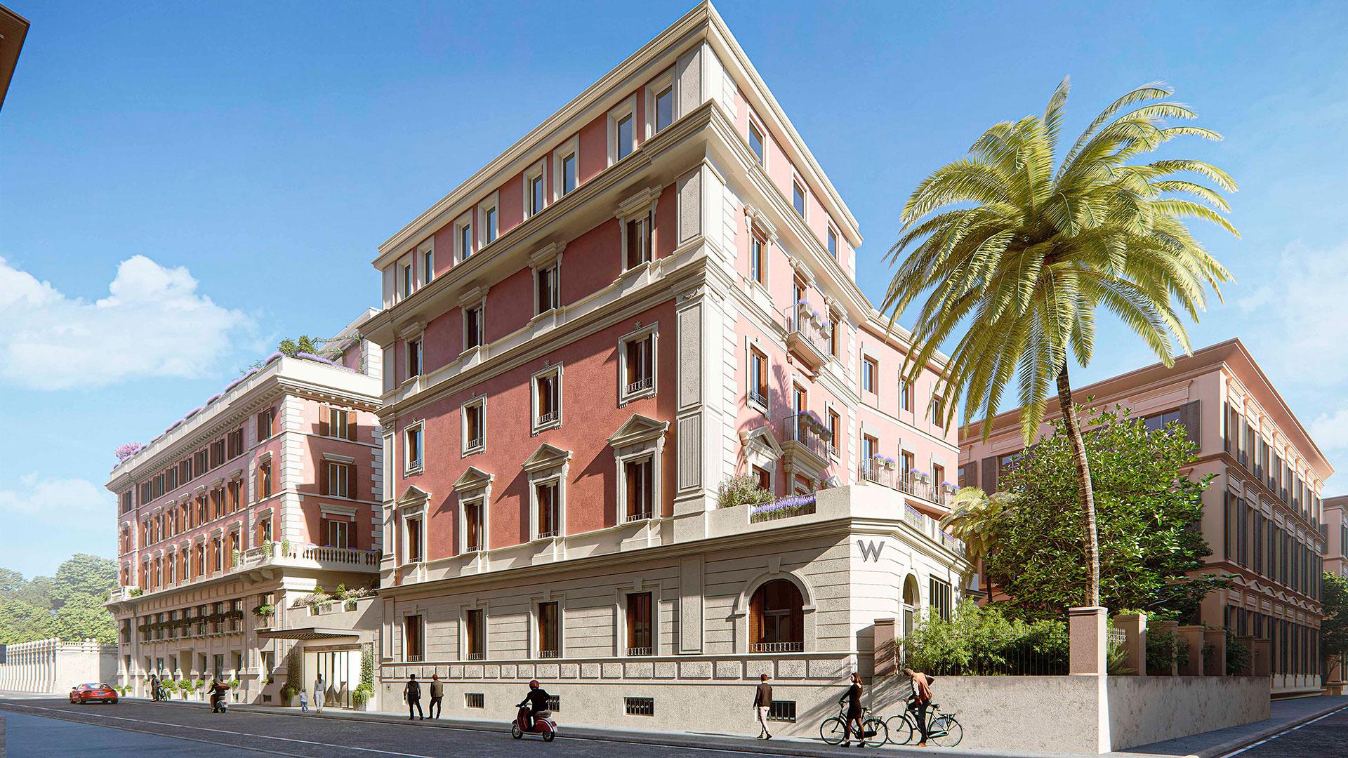 Nuevo W Hotel en Roma hero asset