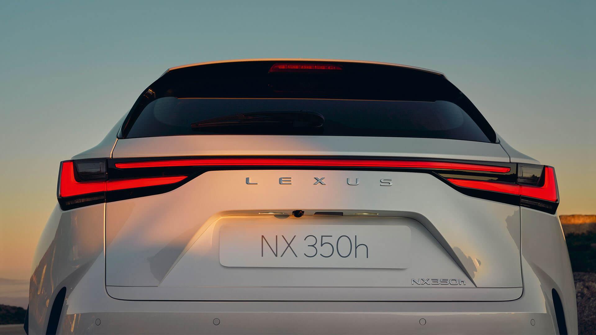 2021 lexus nx experience exterior back new lexus blade light