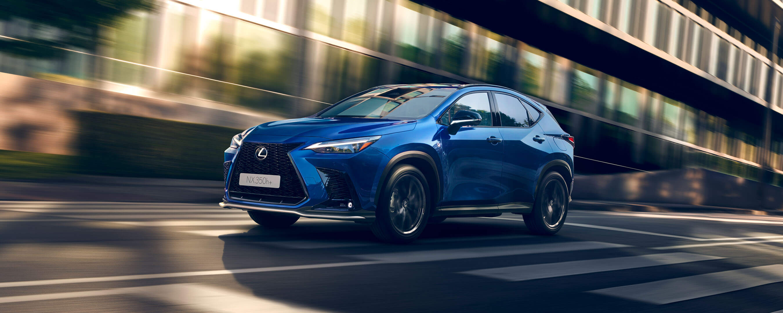 2021 lexus nx overview experience exterior front
