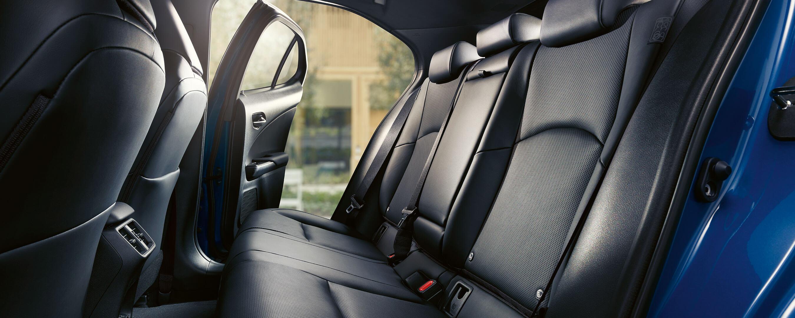 2021 lexus ux 300e experience interior rear