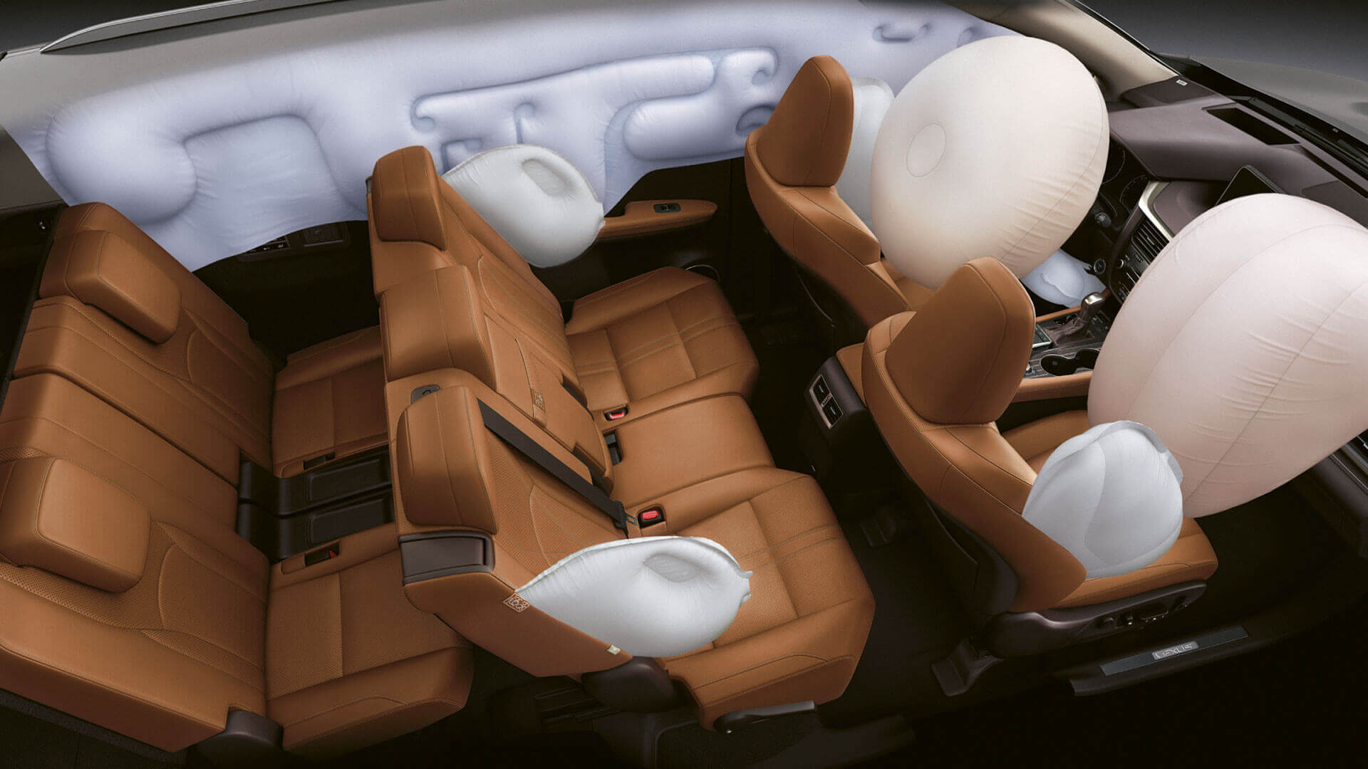 2019 lexus rxl hotspot third row airbags
