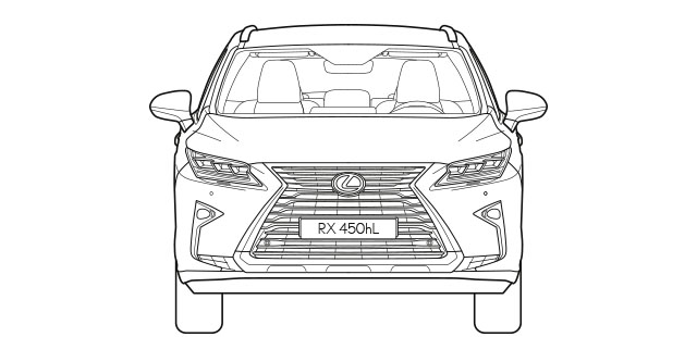 RXL Front Dimensions