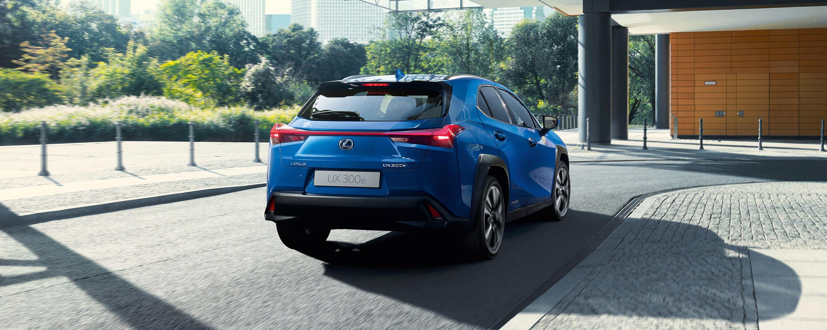 2021 lexus ux 300e experience exterior rear