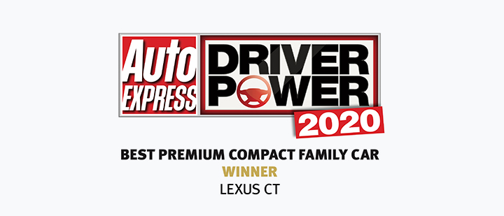 2020 lexus award premium large Compact Family winner ct 21x9