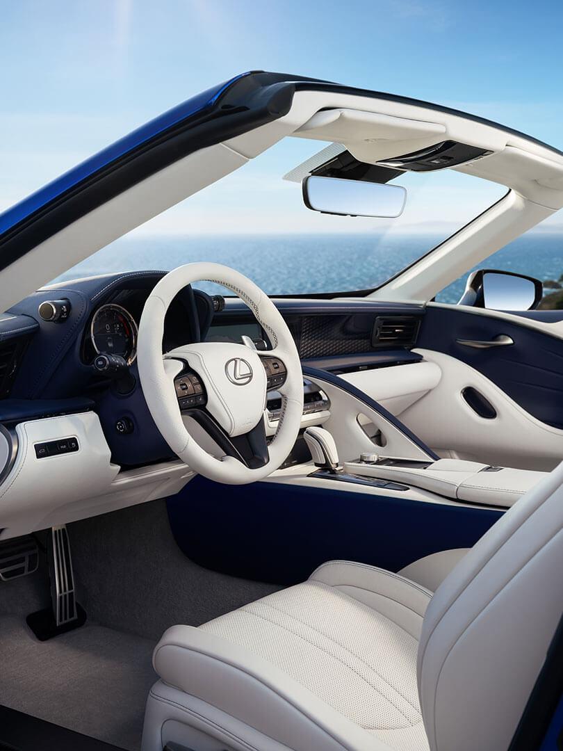 2020 lexus lc convertible slr takumi craftsmanship