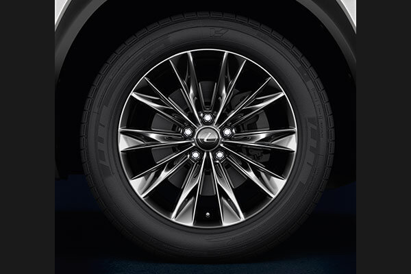 2020 lexus suv nx accessories 18 dark grey alloys 3x2