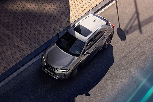 2020 lexus suv ux accessories parking assist 3x2