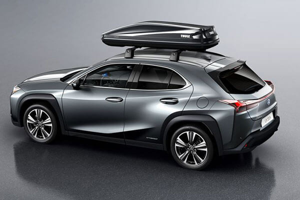 2020 lexus suv ux accessories roof accessories 3x2