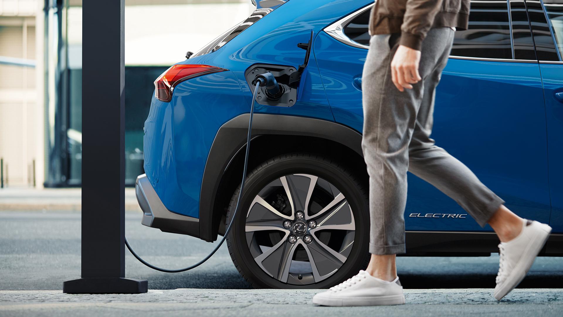 2021 lexus public charging dc charging poster