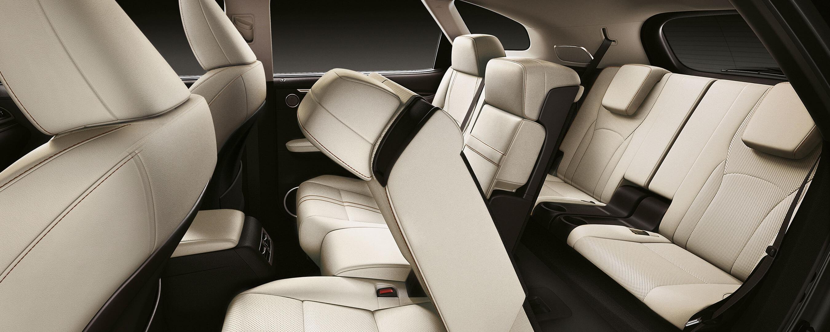 2021 lexus rx l experience hero interior rear