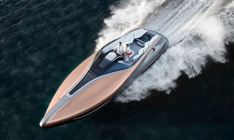 Lexus Unexpected Yacht Concept Image