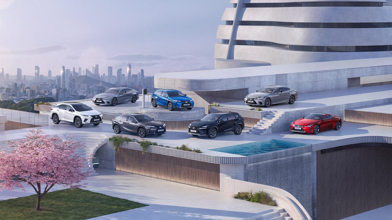 Lexus business fleet managers next steps