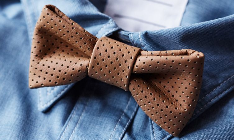 Crafted for Lexus Leather Bow Tie Hero image