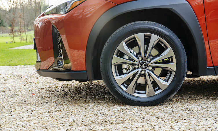 hybrid parked tyres