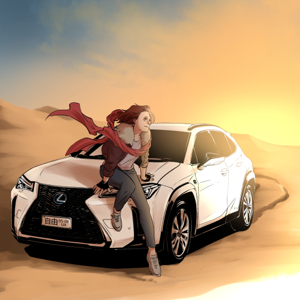 Artists Capture The Spirit Of Lexus In New Original Manga Artworks body image 1