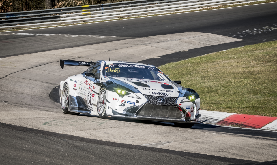 Lexus Returns To Take On The 24 Hours Of Nürburgring Hero image