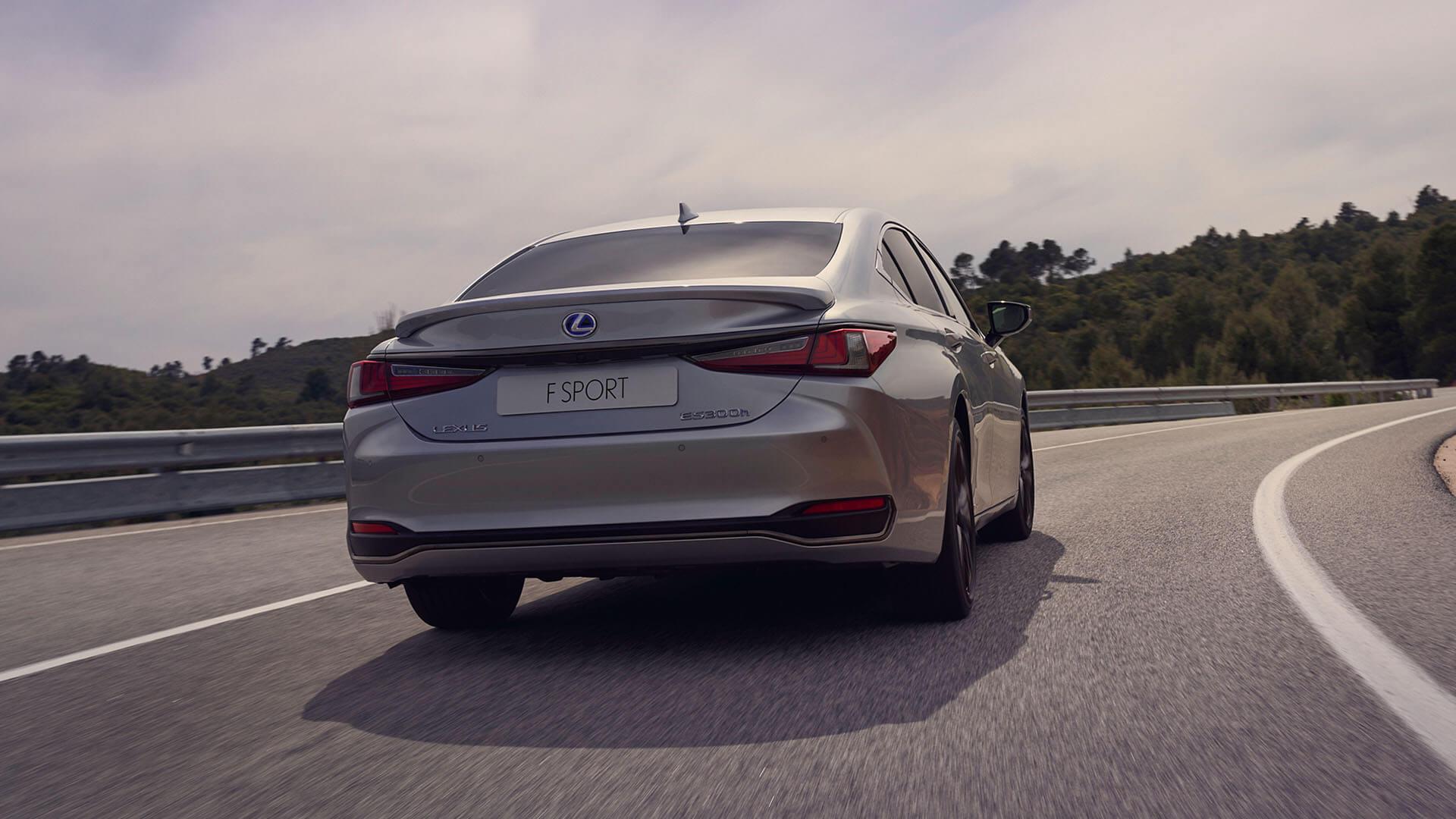 2022 lexus es experience exterior back new adaptive variable suspension