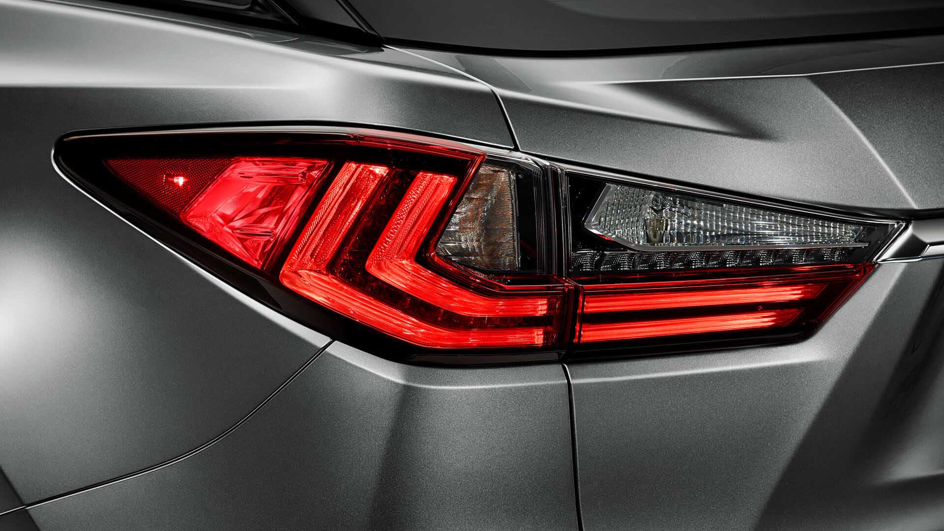 2017 lexus rx 450h features led rear lightd