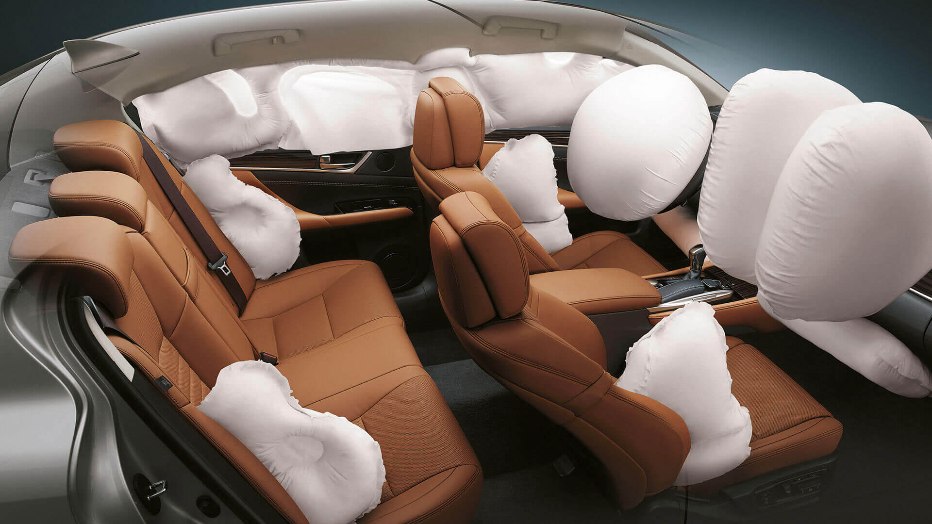 2016 lexus gs 300h features airbags