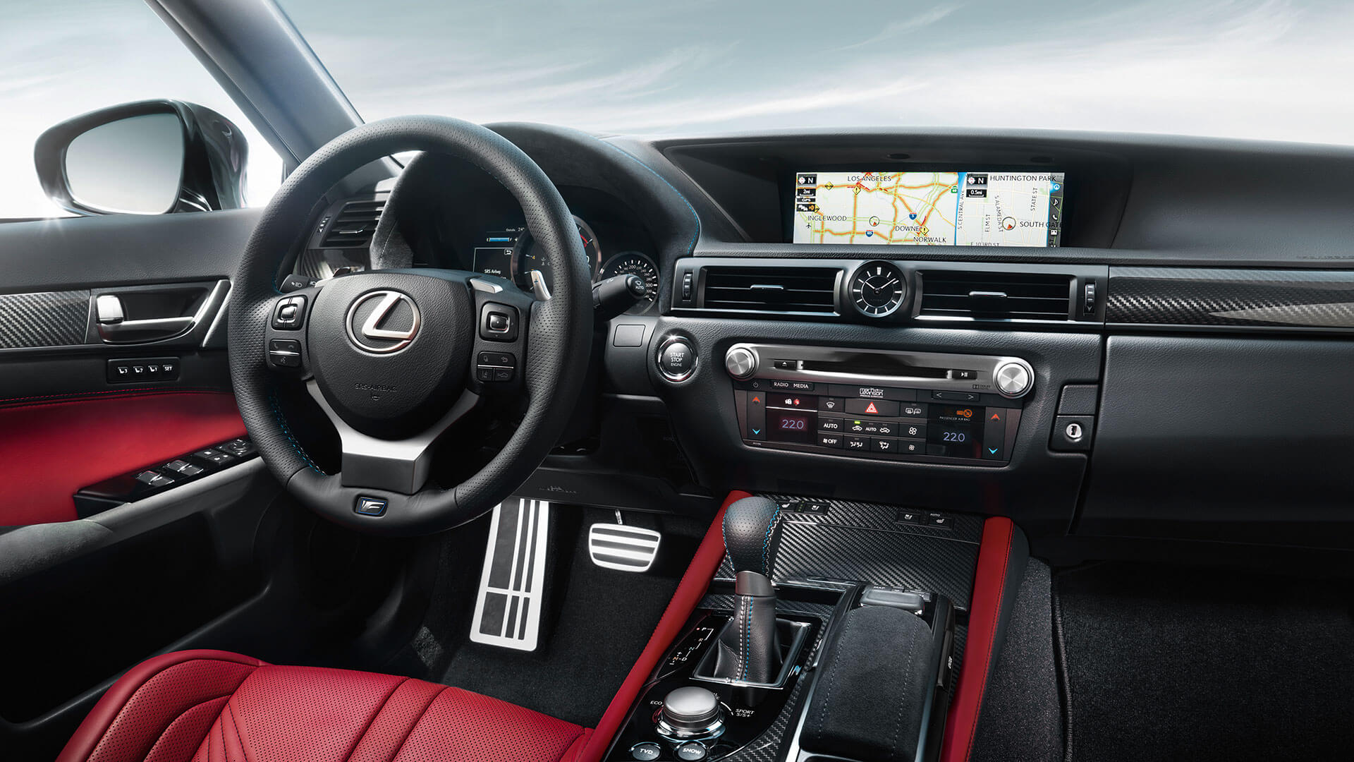 2017 lexus gs f gallery 004 interior