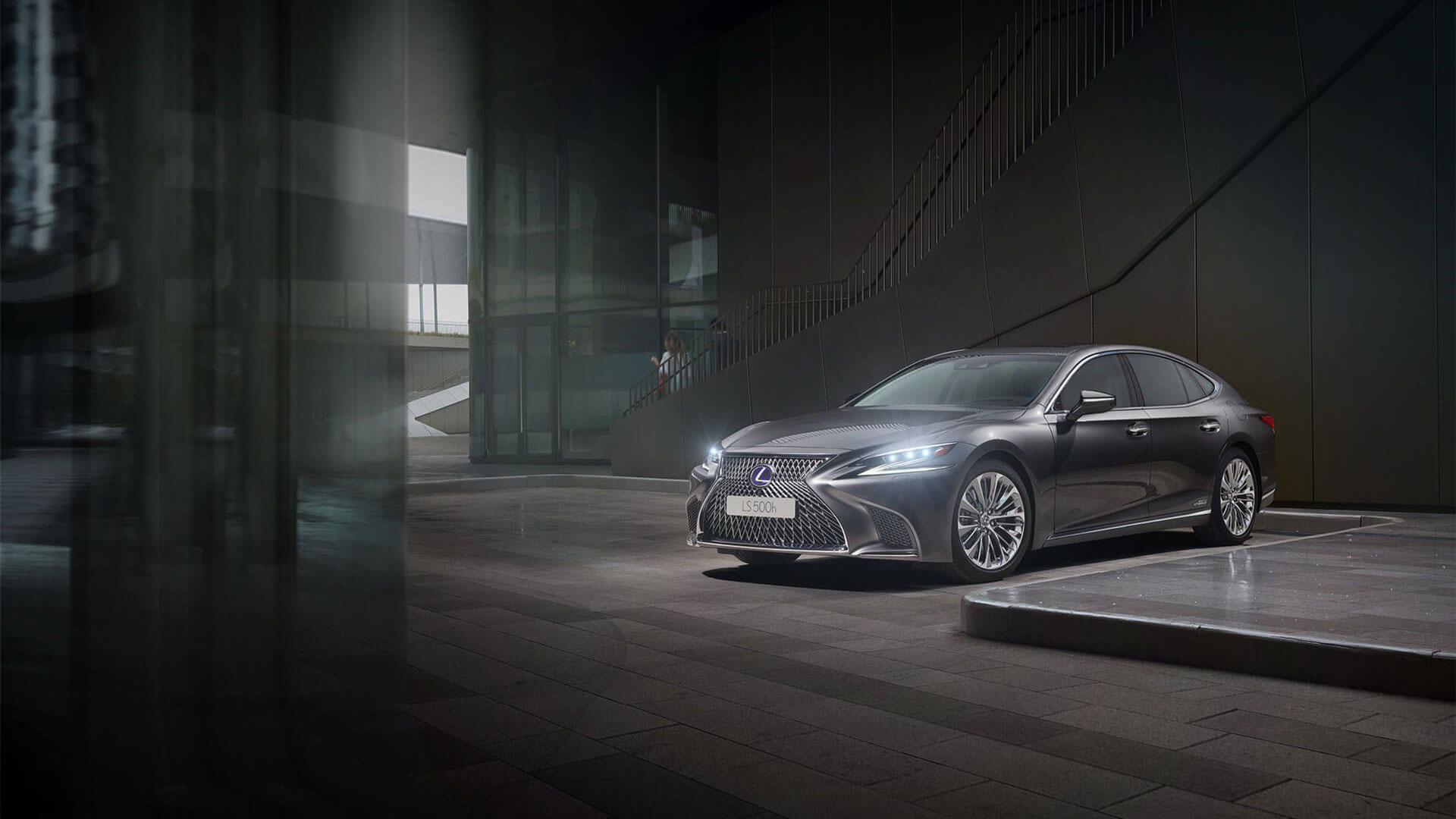 2017 lexus hybrid for business hero ls cinemagraph fallback