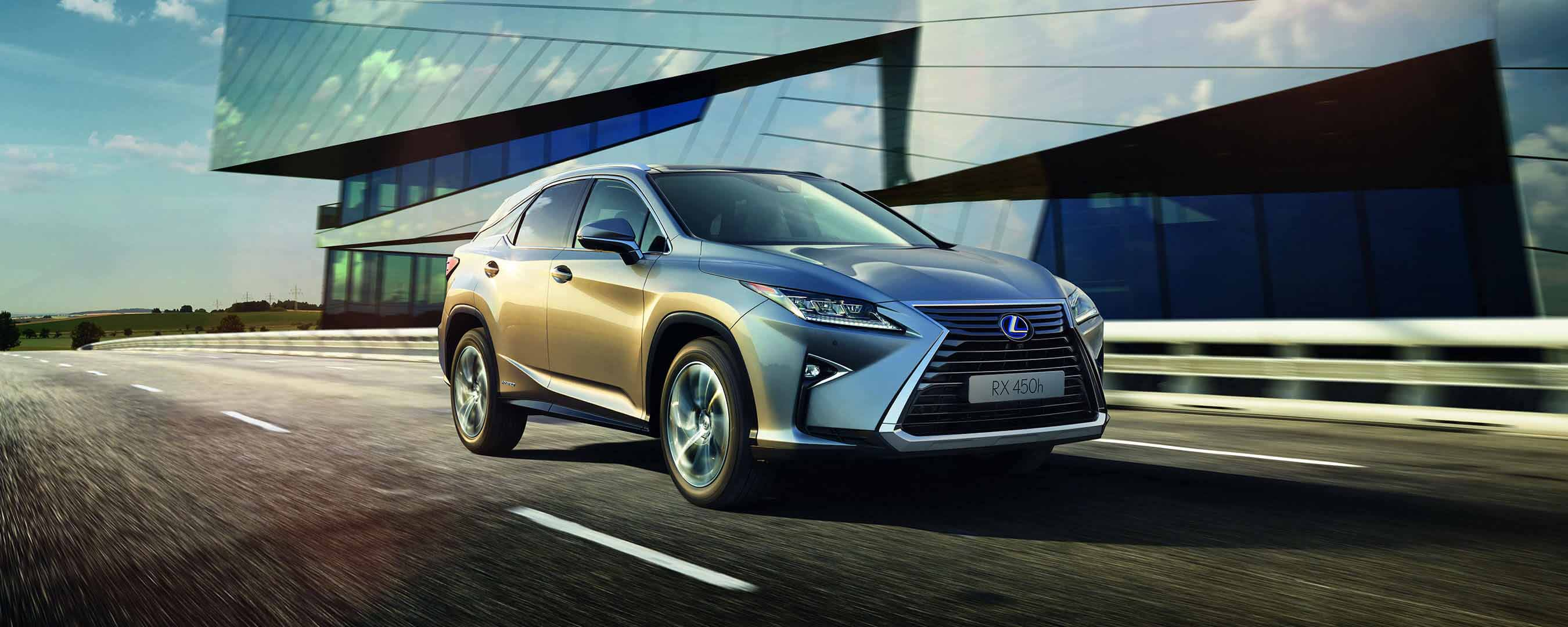 2017 lexus rx 450h experience hero exterior front