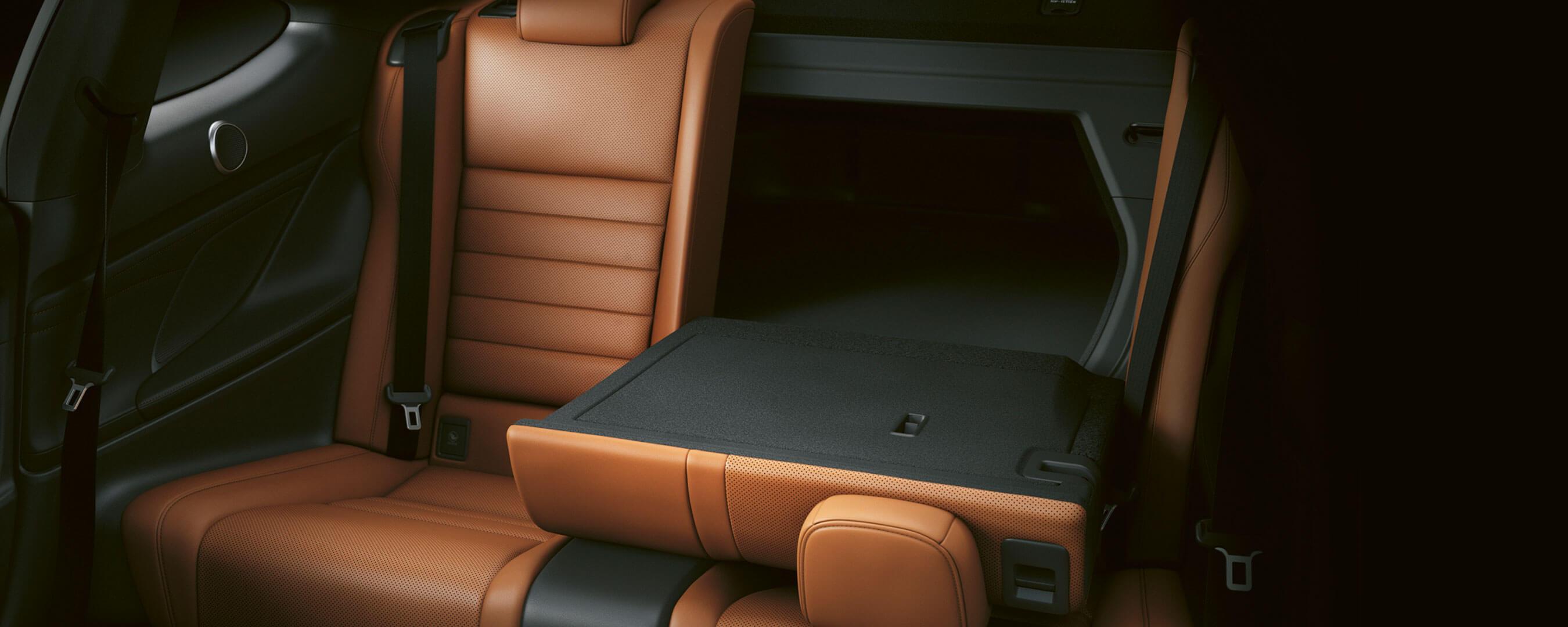 2018 lexus rc experience interior rear