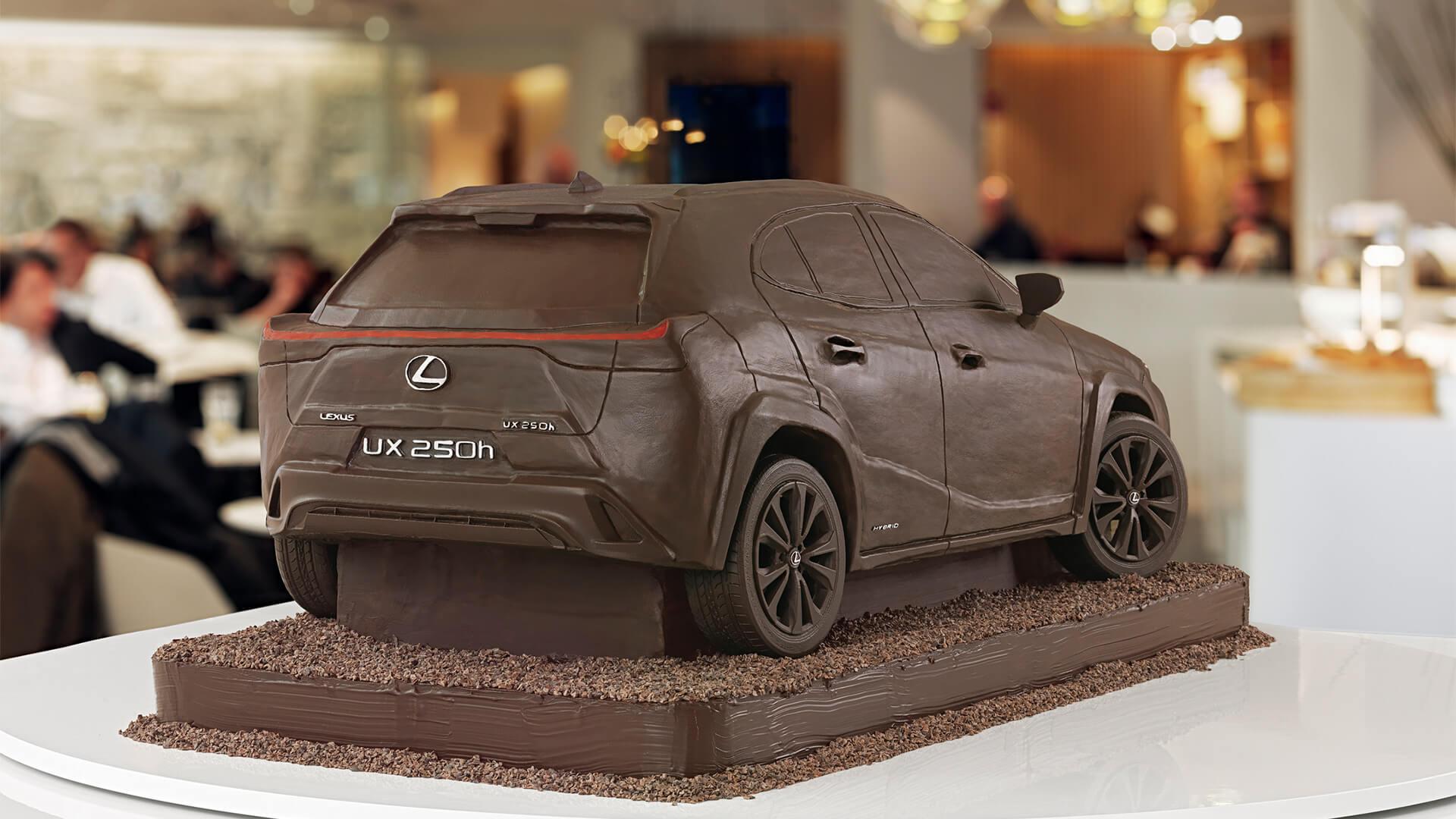 2019 lexus lounge UX Chocolate Car 1920x1080 02