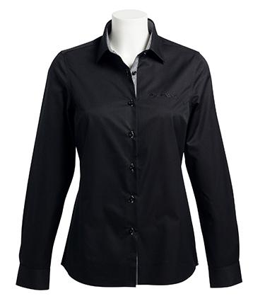 camicia baltimora donna nera