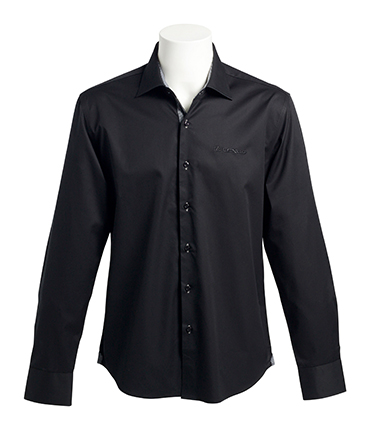 camicia baltimora uomo nera