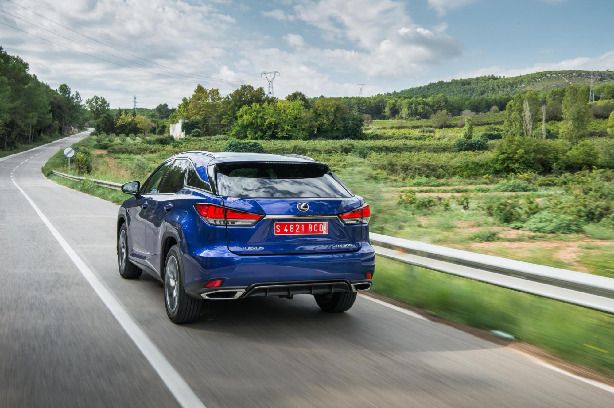 Lexus RX300 Blue 26