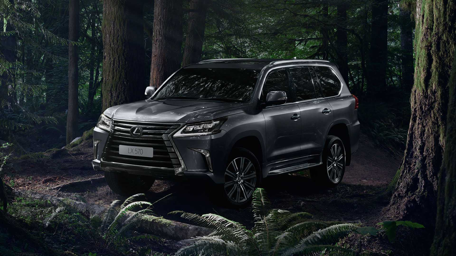 2017 lexus lx 570 key features