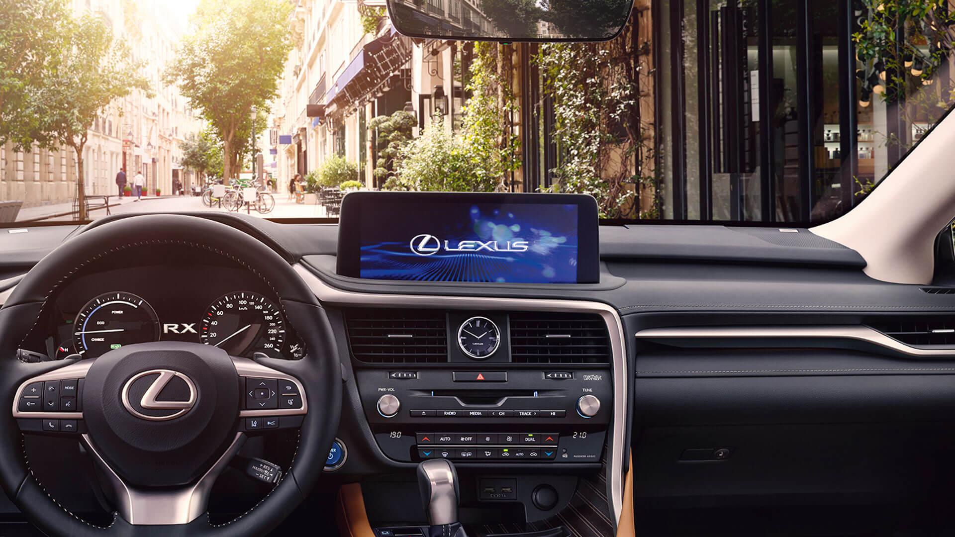 2019 lexus rx hotspot extra large touchscreen