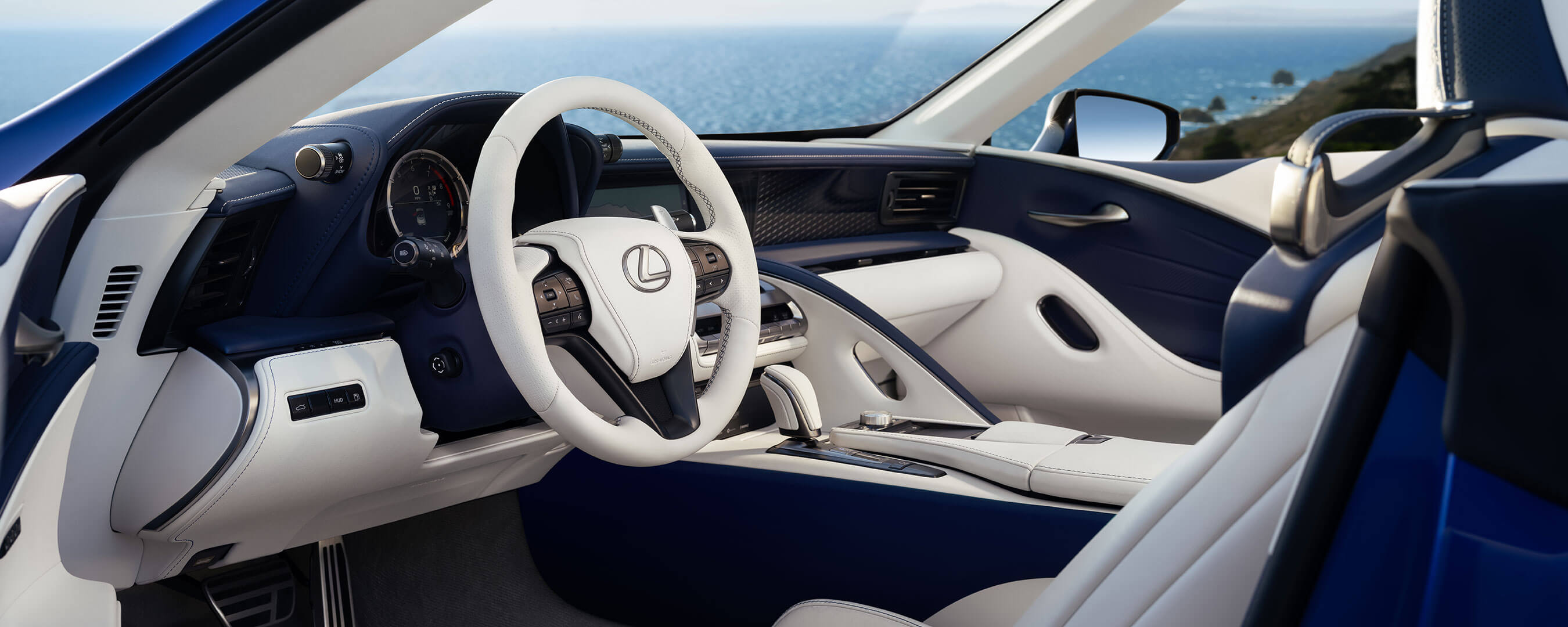2020 lexus lc convertible experience interior front