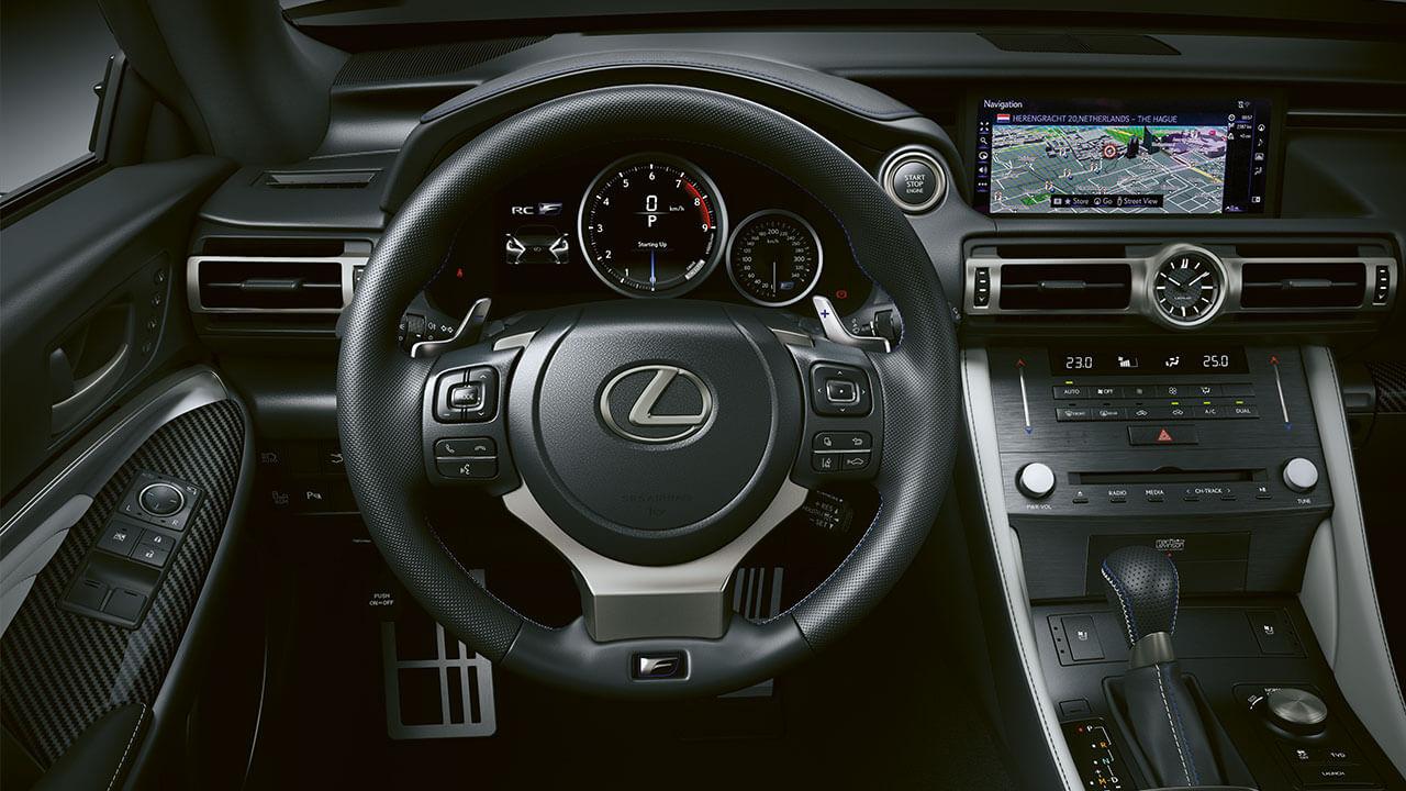 2021 lexus rc f experience hotspot interior premium navigation