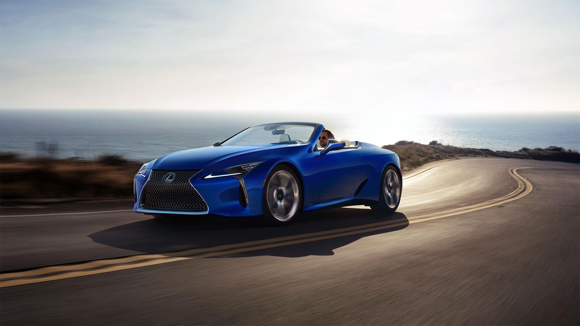 LC Convertible Best Luxury Car Award 08