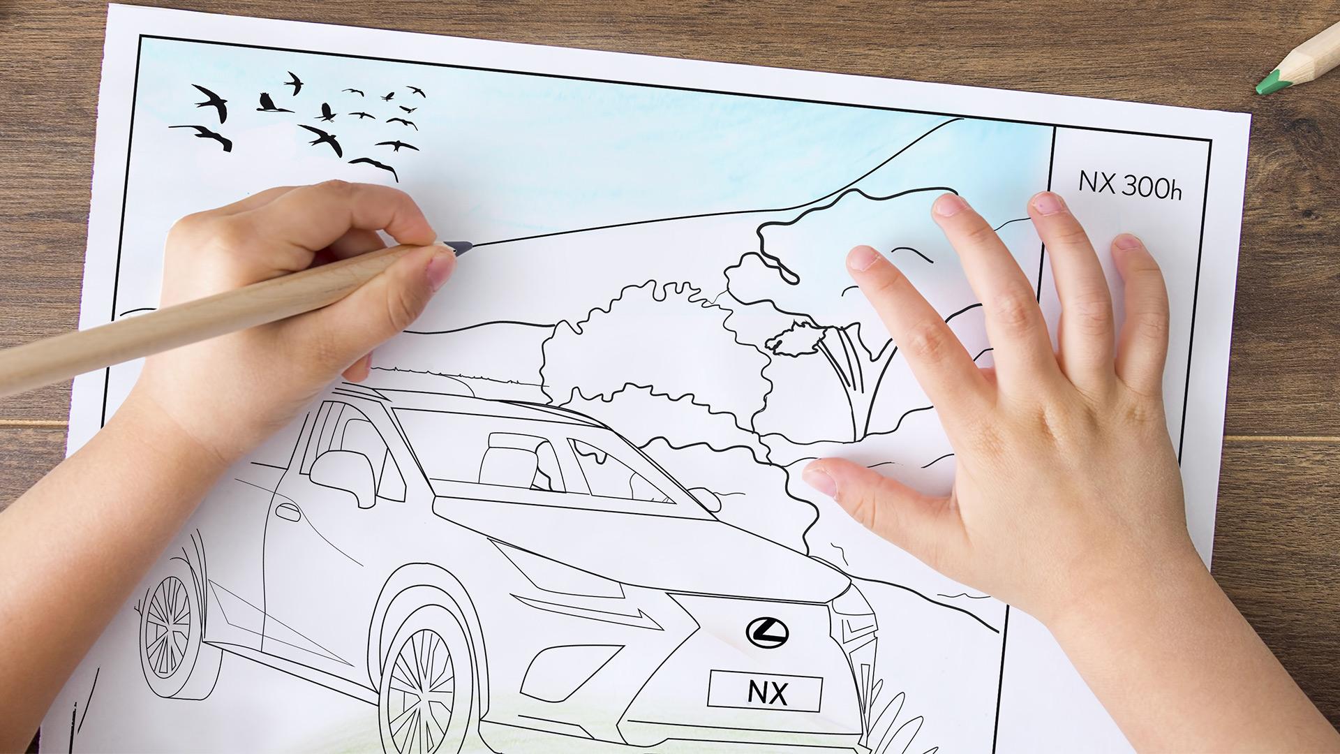 Lexus Paintbook Hero