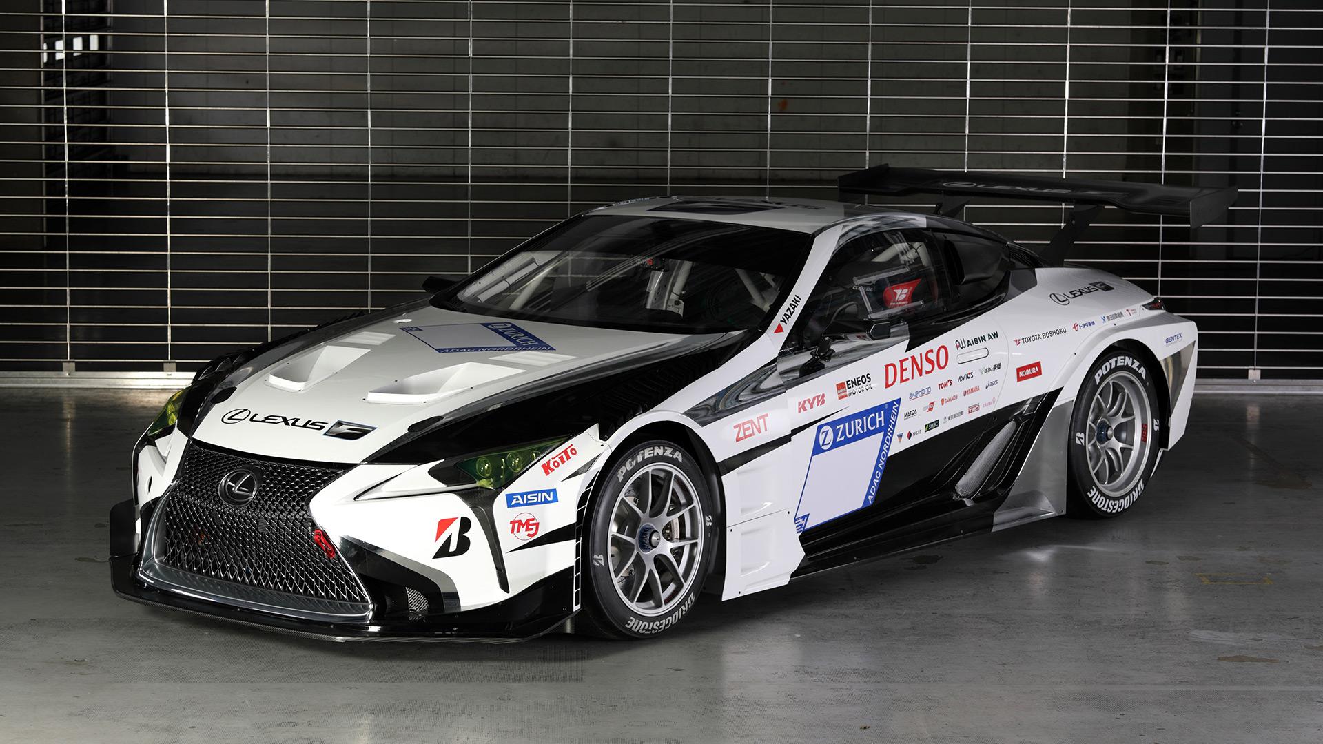 Lexus LC 24 uursrace nurburgring