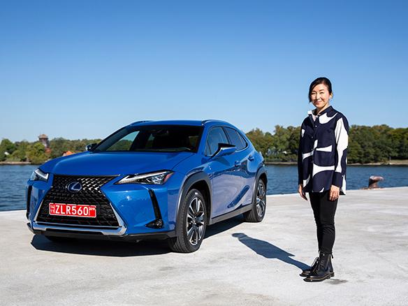 Lexus UX geinspireerd door Europese luxe en Japans design landscape