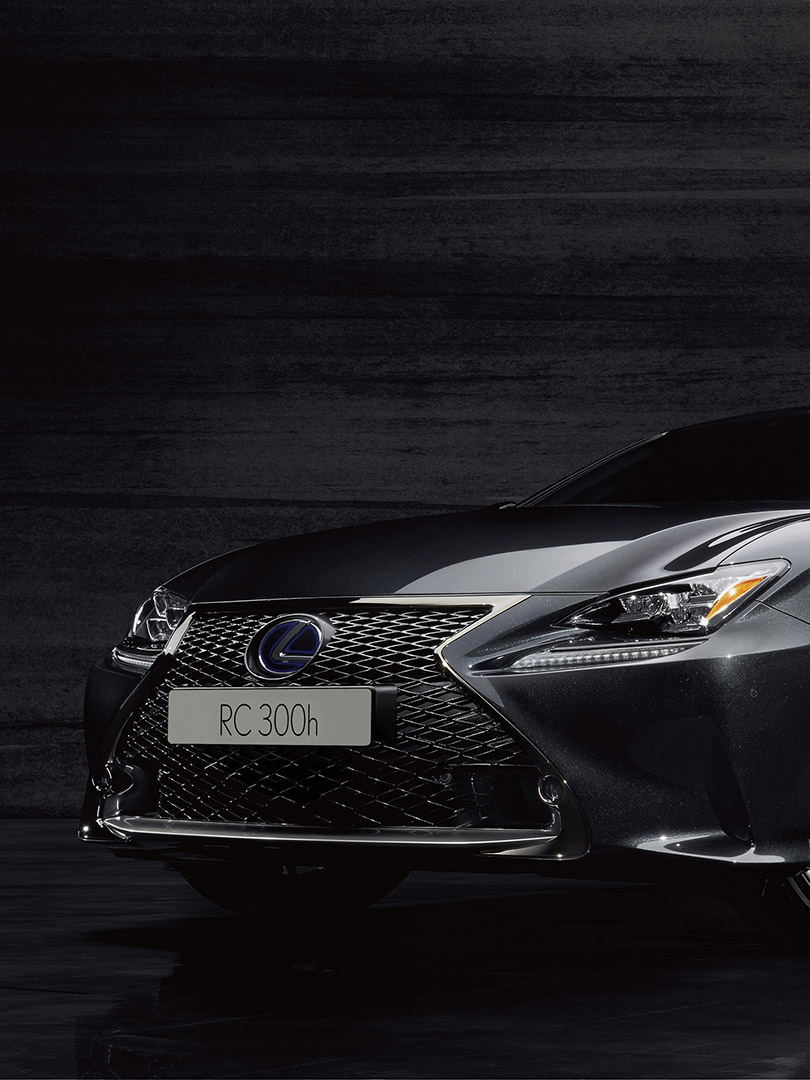 RC F Sport Black Edition experience the RC F Sport Black Edition