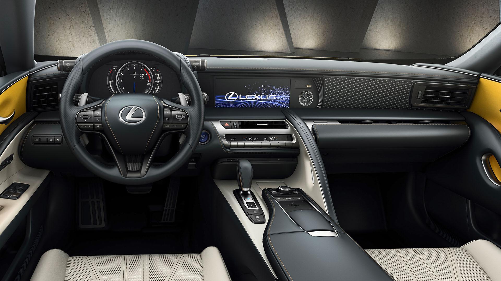 Lexus LC Flare Yellow Edition geeft wow gevoel