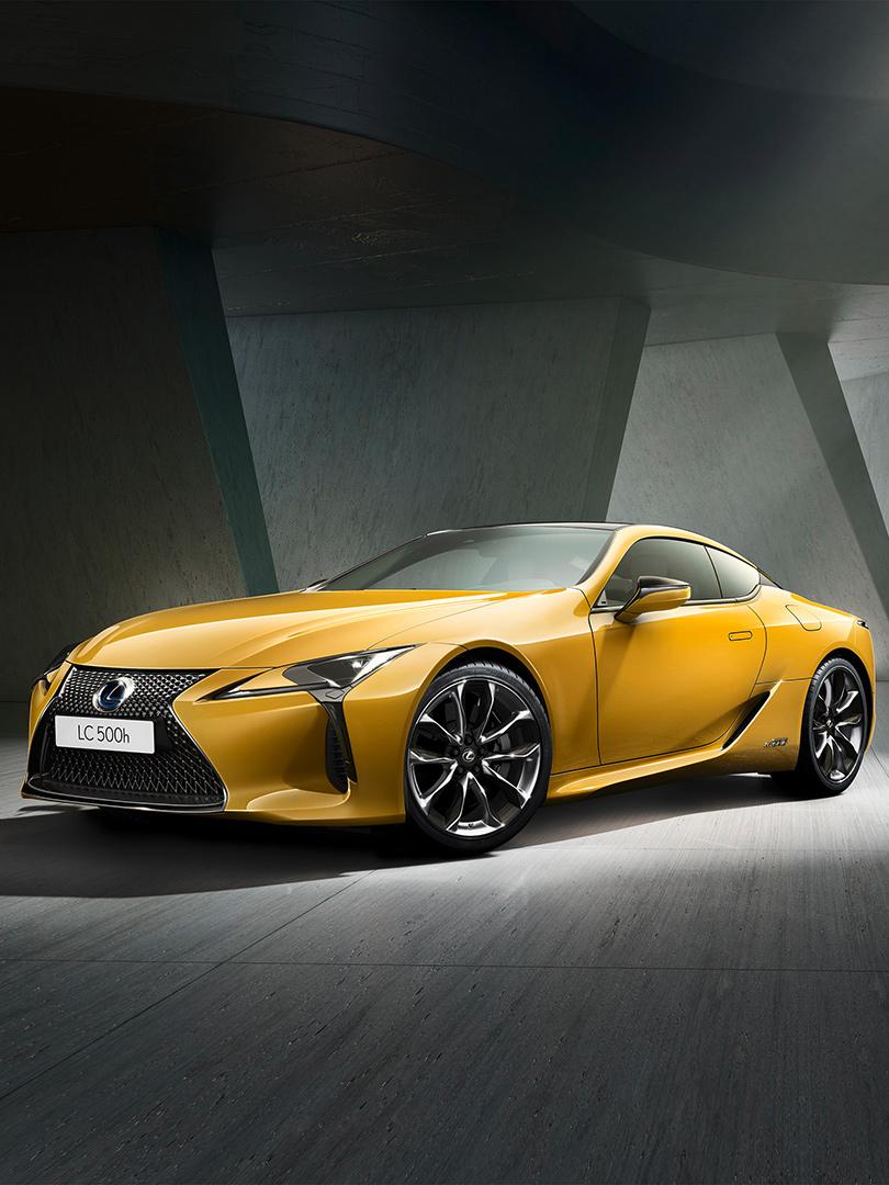 Lexus LC Flare Yellow Edition geeft wow gevoel uitstraling